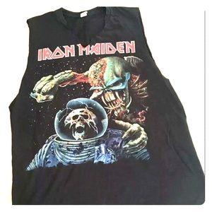 Iron Maiden 2010 Concert T-shirt Large